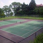 Cushioned Lawn Tennis Court - Kasauli