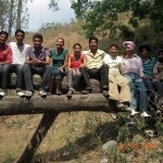 Our group in Kasauli cemetery