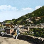 Kasauli cobbled market rare photo