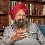 Khushwant Singh at Kasauli during the litfest