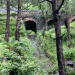 Toy train bridge near Kasauli